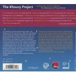 The Khoury Project - The Adventures of Prince Ahmed - The Khoury Project [CD plus DVD]